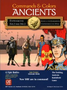 Commands & Colors : Ancients - Expansion 2 and 3 - Rome vs Barbarians and Roman Civil Wars